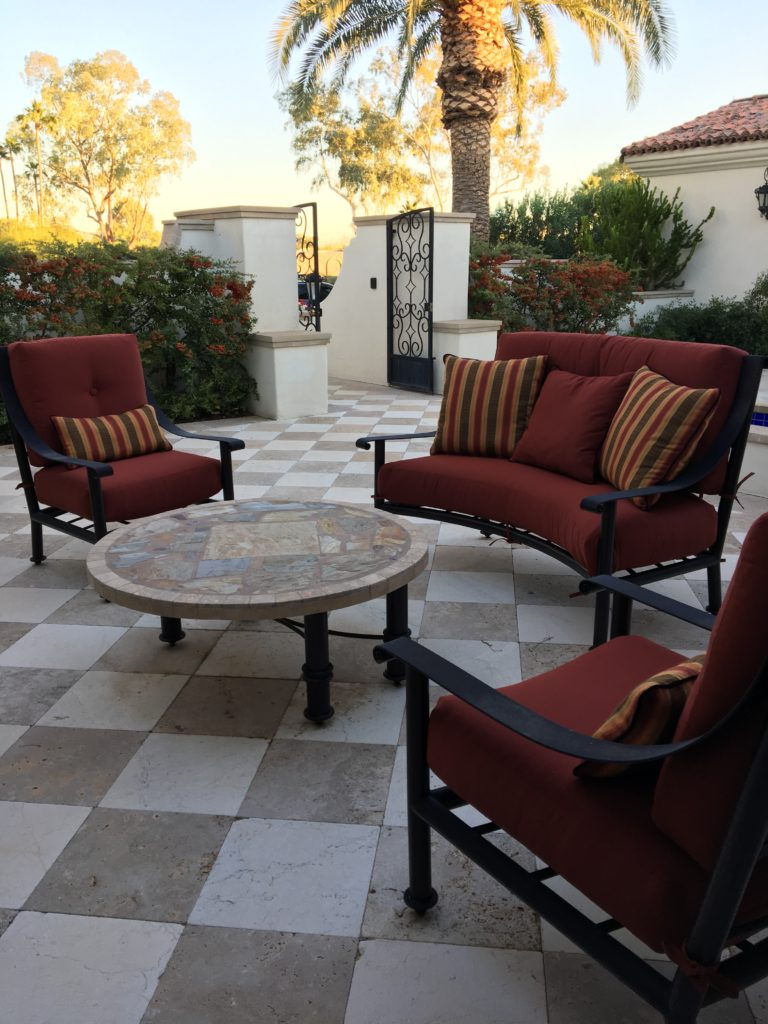 Options to customize or restore your outdoor cushions.