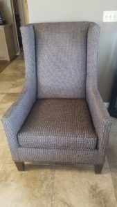 Black Wing Chair